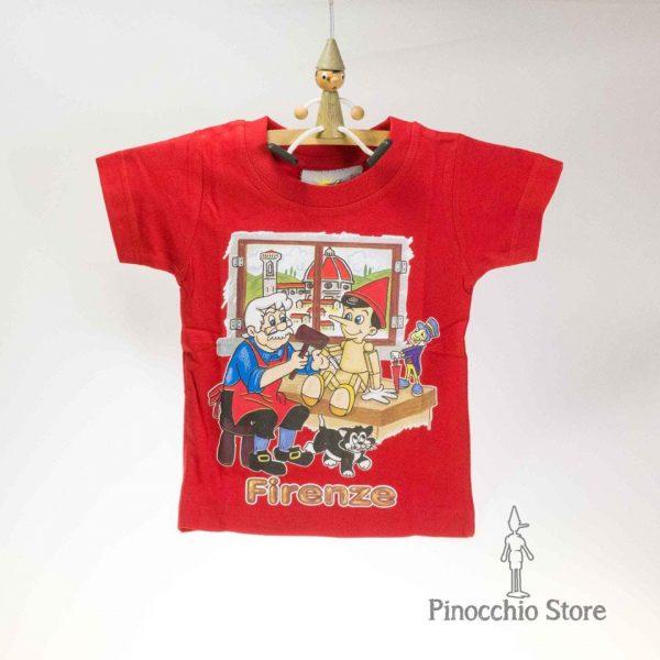 maglia pinocchio rossa