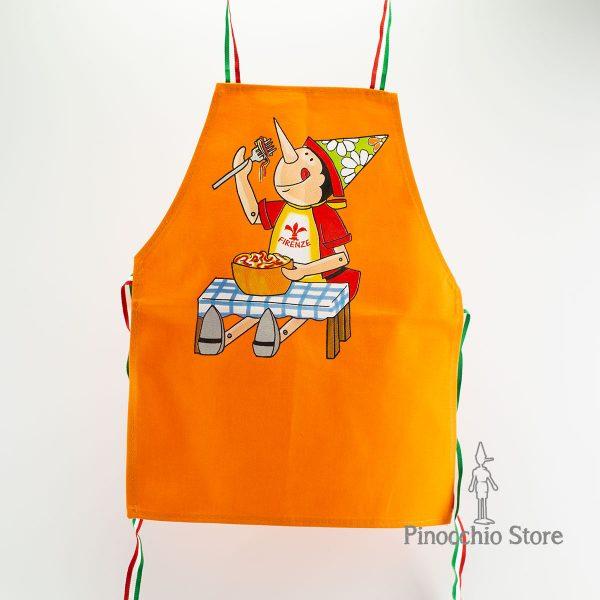 grembiule pinocchio arancione