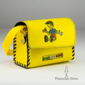 borsetta gialla bauletto