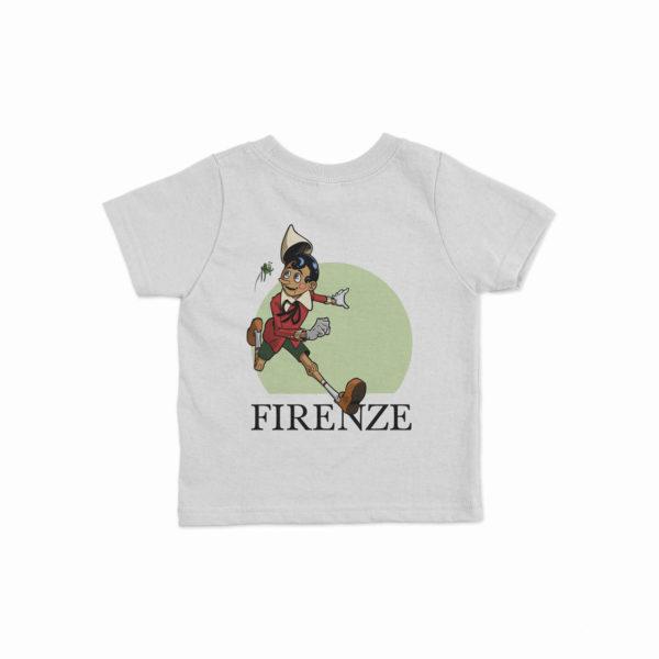 "T-shirt per bambini ""Pinocchio Corre"""