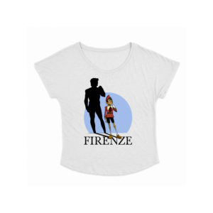 T-shirt donna Pinocchio e David