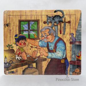 Puzzle in legno di Pinocchio