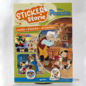 Giornalino con adesivi Pinocchio